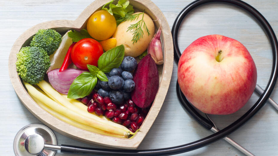 heart healthy diet with cold