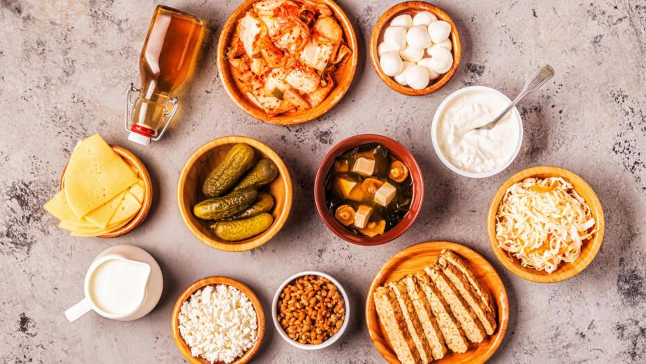 Probiotic rich foods