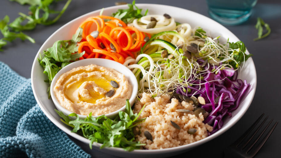 Spiralazed Vegetable Salad