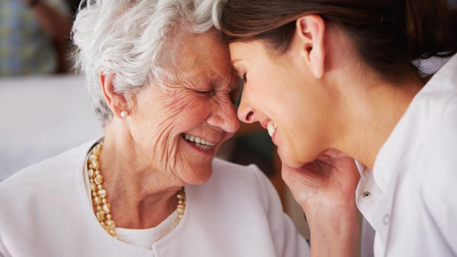 Stroke Mom Daughter Smiling 179165125