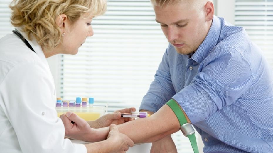 Thinkstockphotos 181716242 Man Getting Blood Test