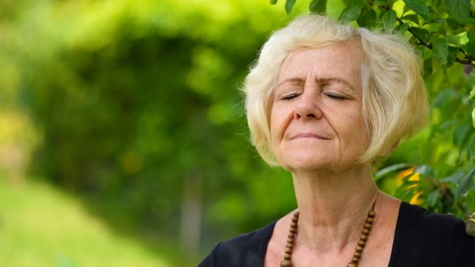 Thinkstockphotos 482295254 Mature Blonde Woman In Garden