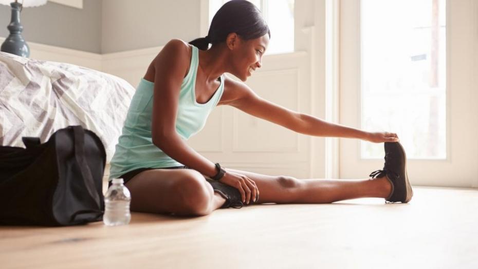 Thinkstockphotos 519320654 Woman Stretching Exercise Training