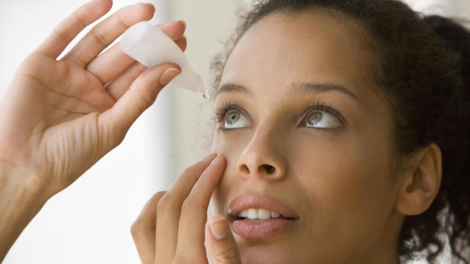Eye drops vision dry eyes