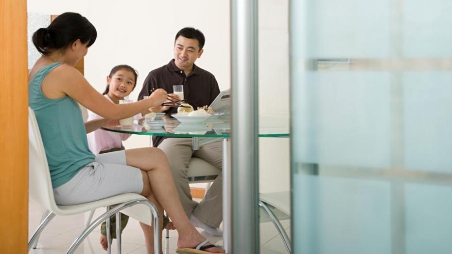 Family Having Dinner 535028933
