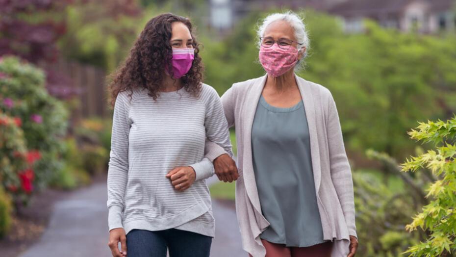 Health benefits social walking