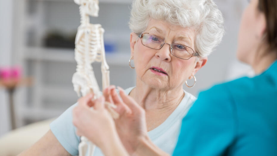 Osteoporosis elderly woman provider 1 3 2020