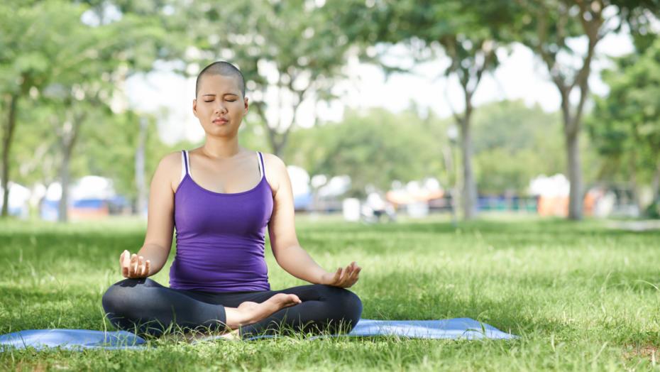 Yoga cancer patient