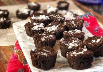 Healthy Brownie Bites Recipe