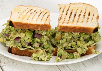 Heart Healthy Avocado Chicken Salad