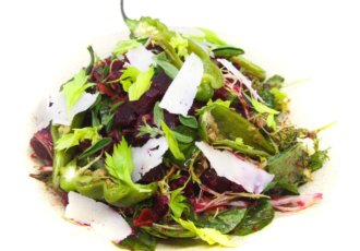 Marinated Beet Italian Salad by Chef Carl for DTB photo cred Emily Eickhoff