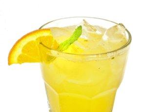 Orange ginger spritz
