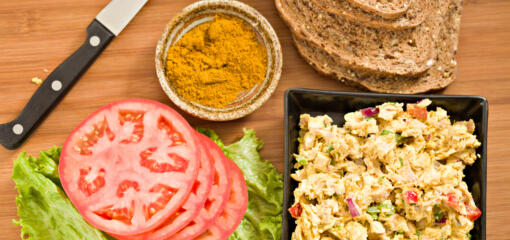 Inflammation-Busting Curry Chicken Salad Recipe