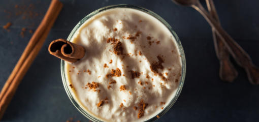 Eggnog Frozen Yogurt Recipe