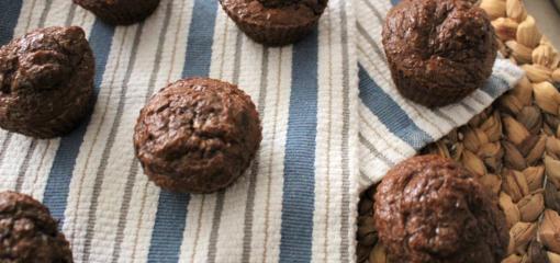 Chocolate Protein Muffins (Recipe)