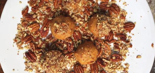 Pecan Nut Butter Balls (Recipe)