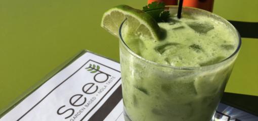 Avocado-Cilantro Mockgarita (Recipe)
