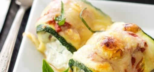 Stuffed Zucchini Rolls (Recipe)