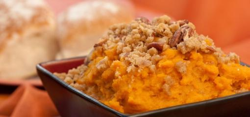 Lighter Sweet Potato Casserole (Recipe)