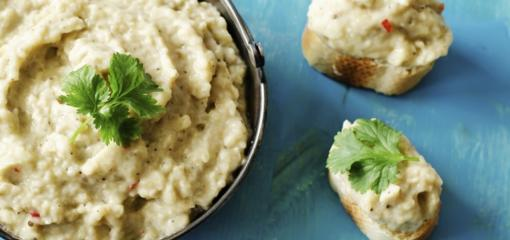 Healthy Roasted Eggplant Dip (Recipe)