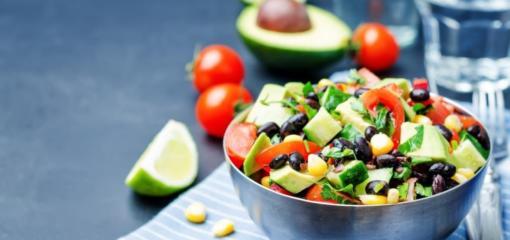 Healthy Cinco De Mayo Black Bean Salsa (Recipe)