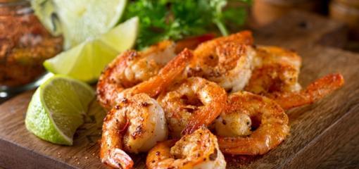 Grilled Shrimp Tacos with Louisiana Strawberry Salsa (Recipe)