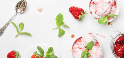 White Bean Berry Ice Cream Recipe