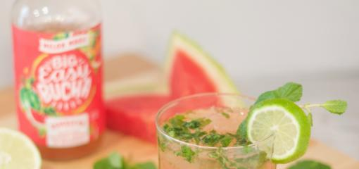 Big Easy Bucha Melon Magic Fauxjito Recipe