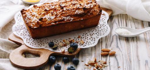 Blueberry Banana Nut Bread Recipe
