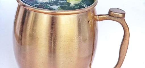 Moscow Mule Mocktail by Antoni's Italian Cafe