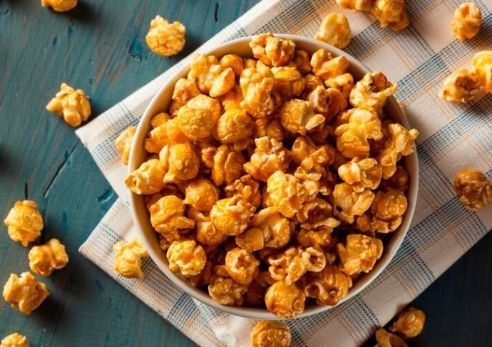 497715915 Pumpkin Spice Popcorn