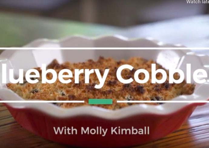 Blueberry Cobbler Molly Kimball