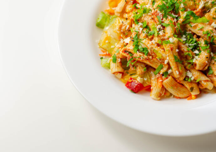 Chicken and Whole Wheat Pasta