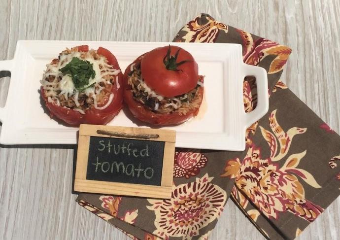 Creole Stuffed Tomato