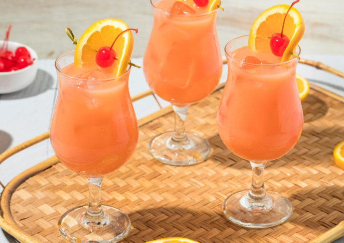 Healthy Hurricane Mocktail Recipe