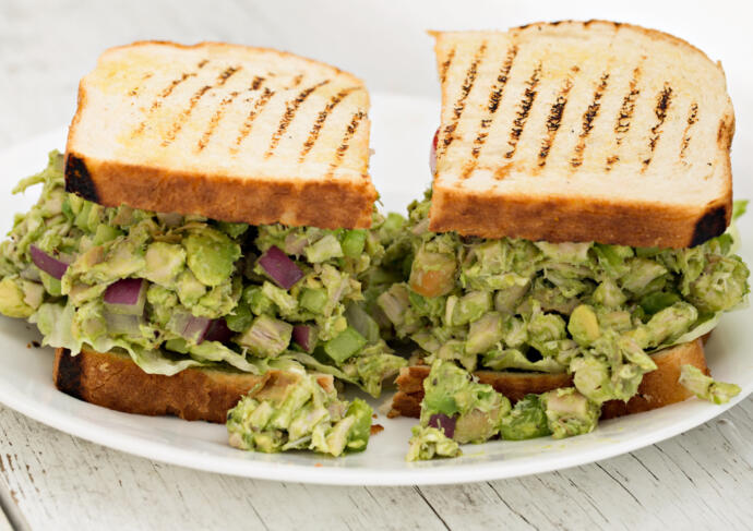 Heart Healthy Avocado Chicken Salad