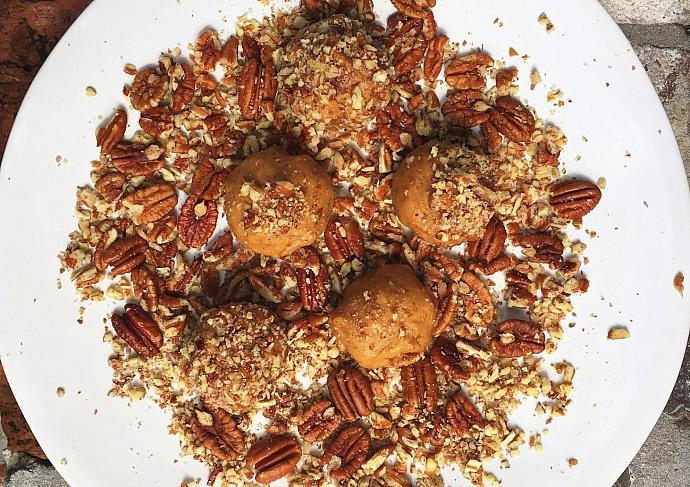 Pecan Nut Butter Balls