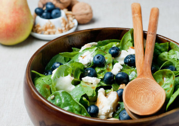 Blueberry chicken salad