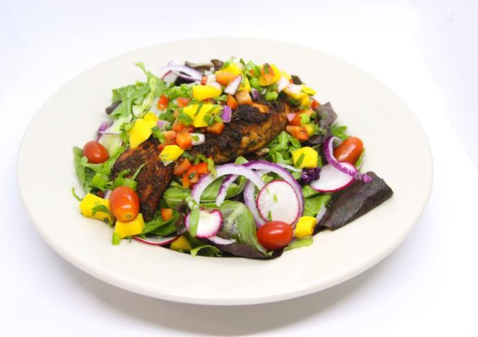 Salmonmangosalad