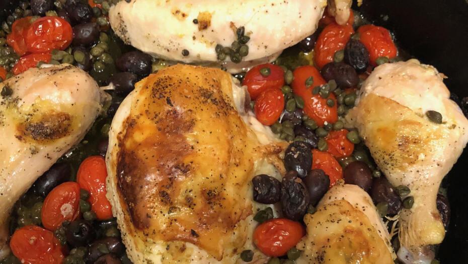 Saucy Mediterranean Chicken