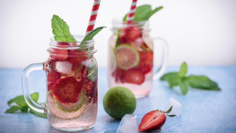 Sparkling Pink Lemonade Alcohol Free Cocktail Recipe