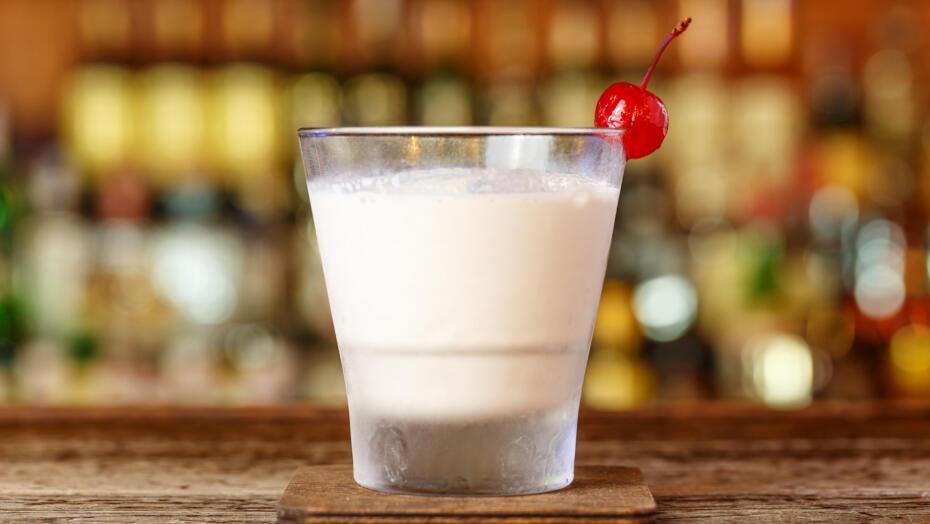 Tahini Milkshake Zero Proof Cocktail Recipe