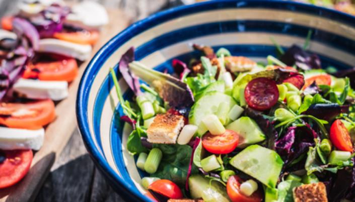 Food Fitness desktop homepage