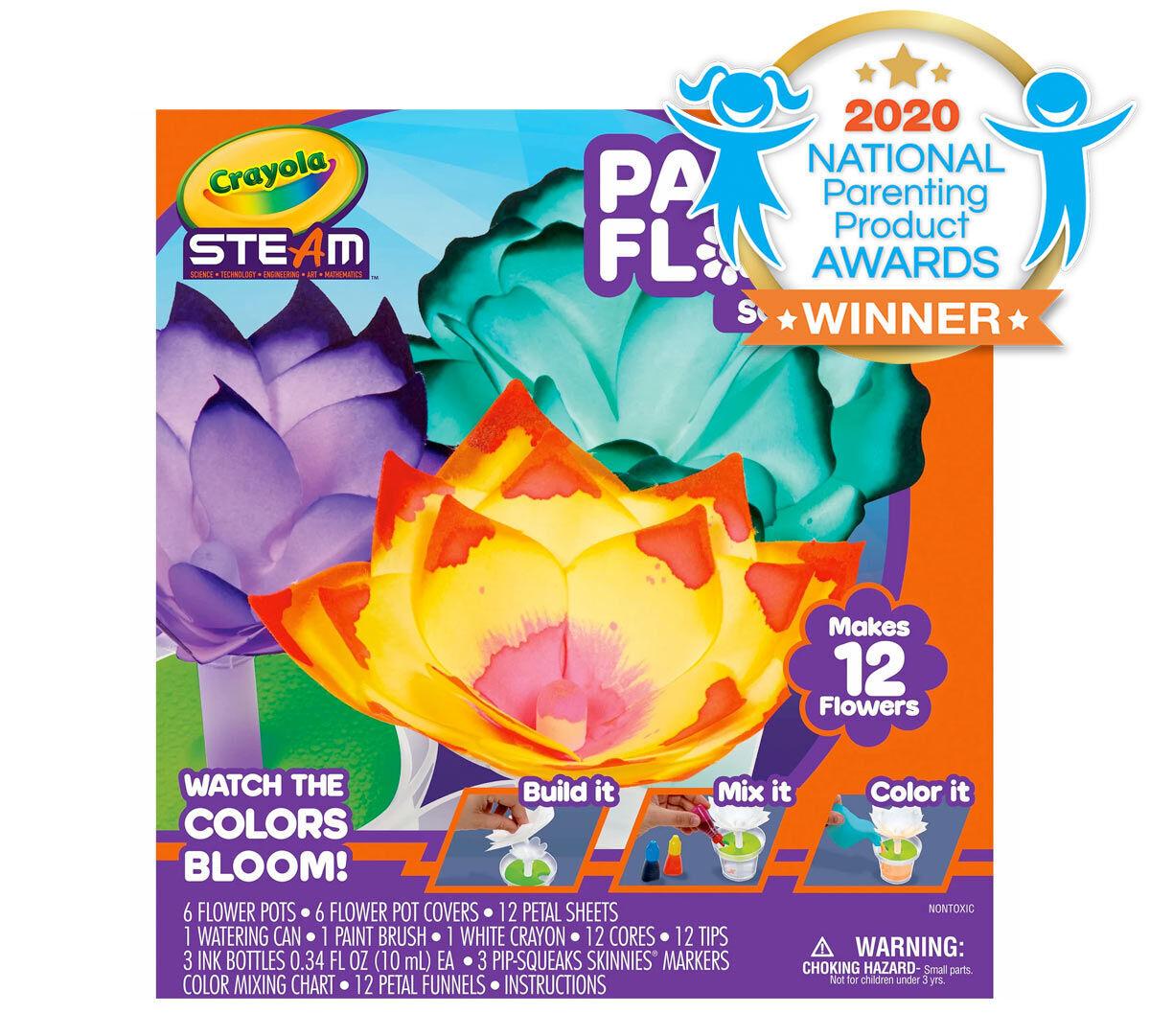 Crayola STEAM Paper Flower Kit