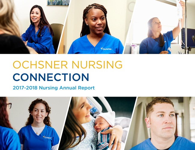 Ochnser Nursing Annual Report