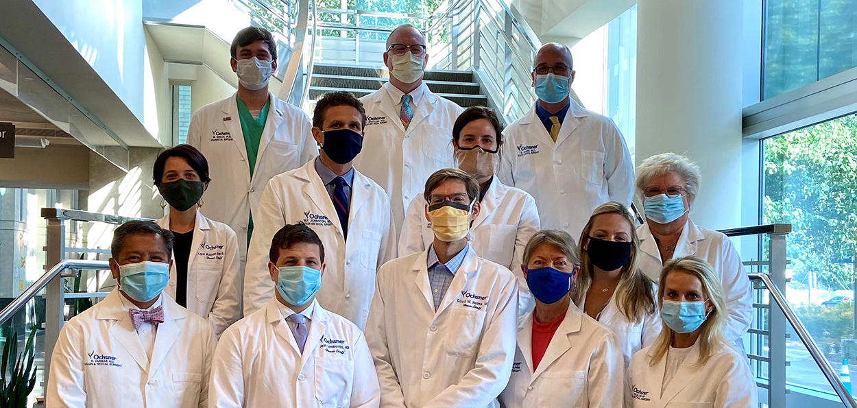 Colon and Rectal Surgery Fellowship Group Photo