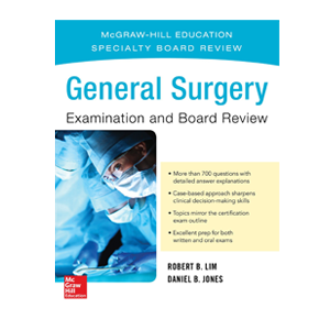 General Surgery Examination and Board Review Cases Cover