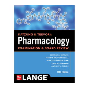 Katzung & Trevor's Pharmacology Examination and Board Review Cover