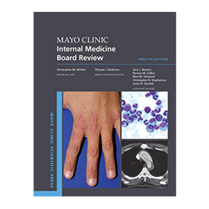 Mayo Clinic Internal Medicine Board Review Cover