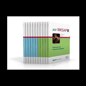 MKSAP 17 Medical Knowledge Self-Assessment Program Covers